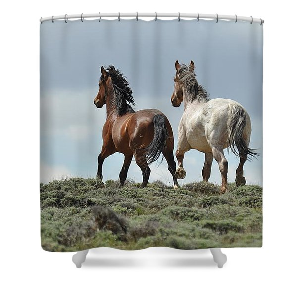 Too Beautiful Shower Curtain