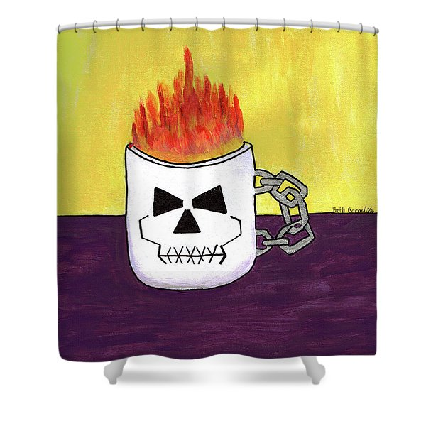Too Hot To Handle Shower Curtain