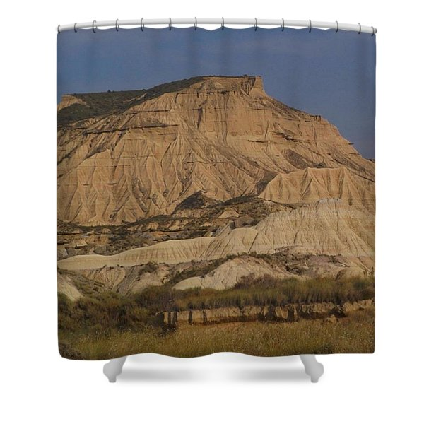 Bardenas Reales Shower Curtain