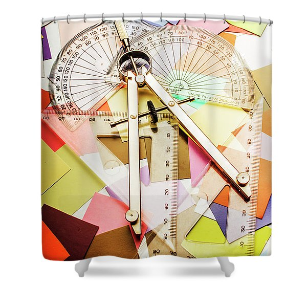 Tools Of Architectural Design Shower Curtain
