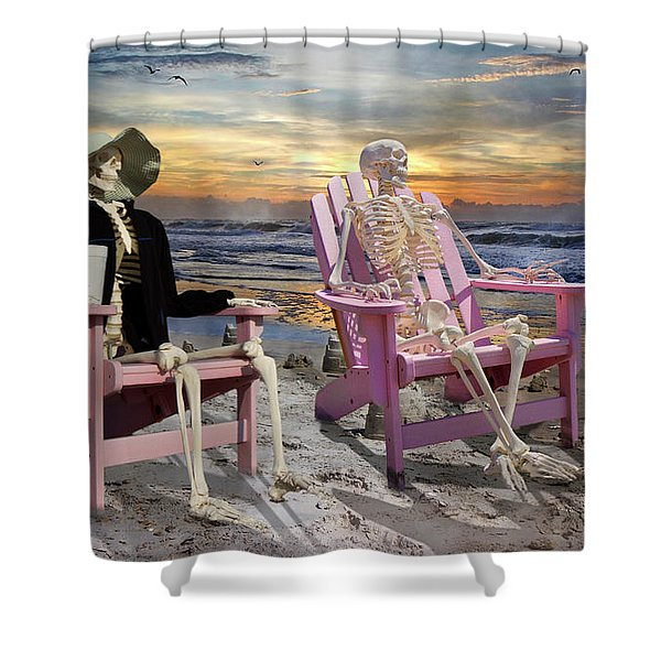 Topsail Tales Shower Curtain