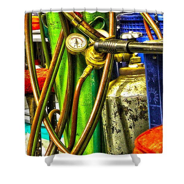 Torch Me Shower Curtain