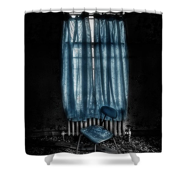 Tormented In Grace Shower Curtain