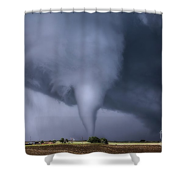 Tornado And House Shower Curtain