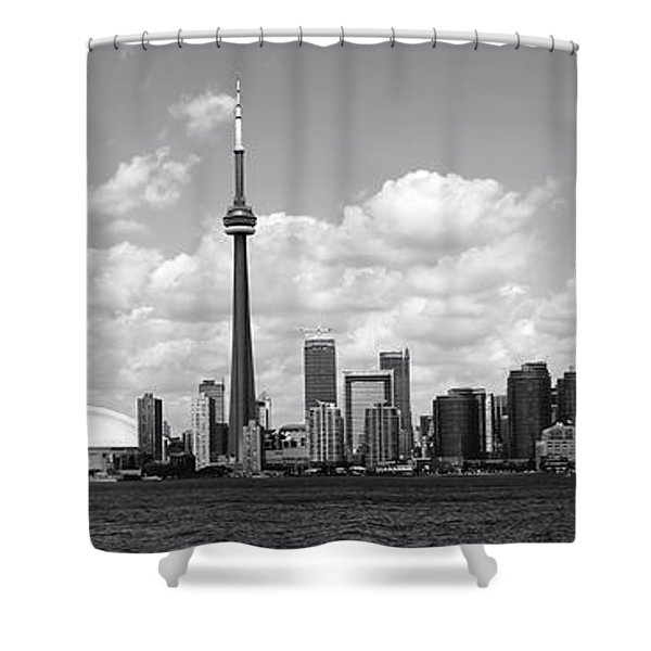 Toronto Skyline 11 Shower Curtain