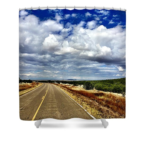 Torrance County Clouds Shower Curtain