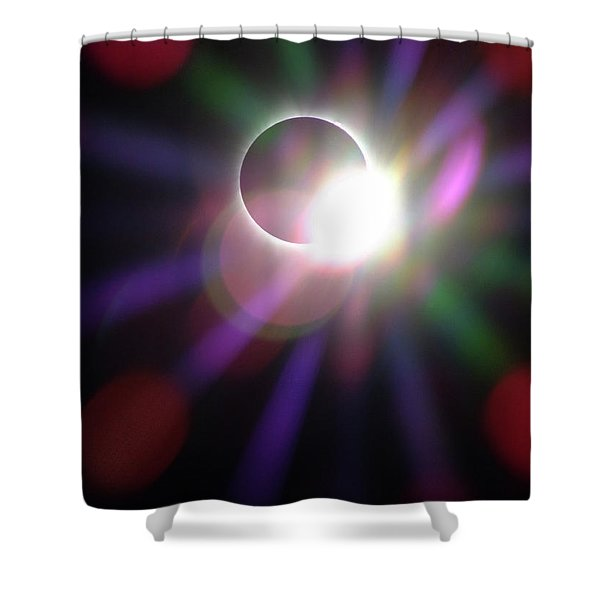 Total Eclipse Of The Sun Shower Curtain