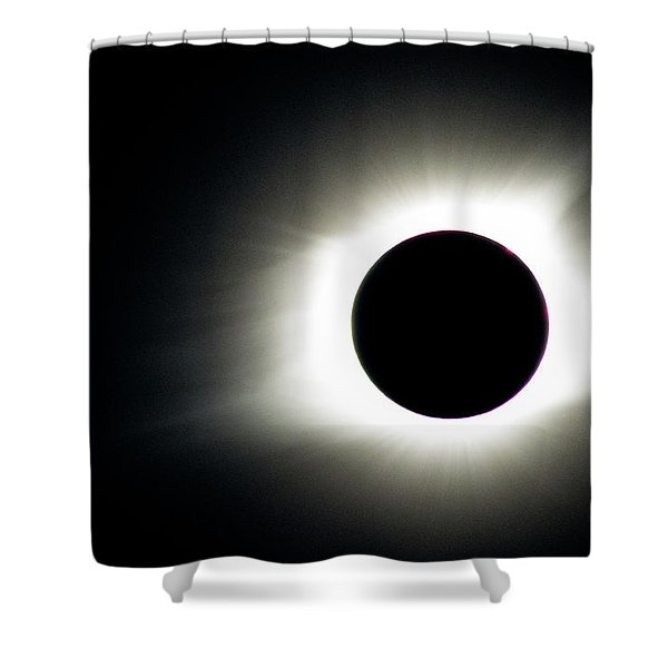 Totality And Mercury Shower Curtain