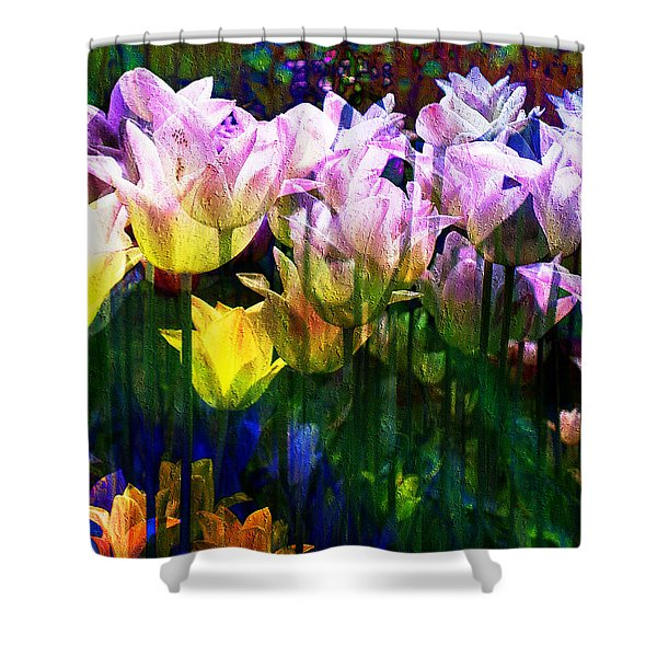 Totally Tulips Shower Curtain