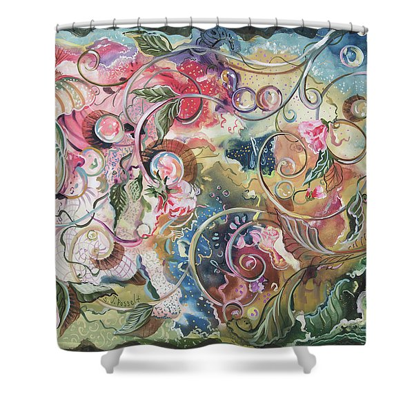 Toto's Symphony Shower Curtain