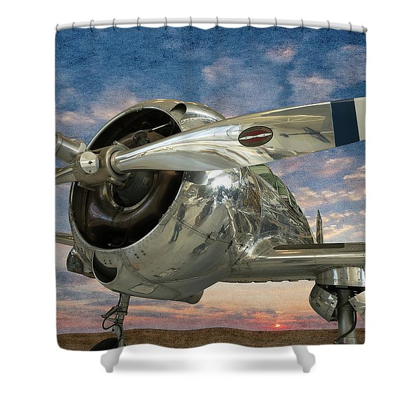 Touch And Go II Shower Curtain