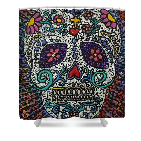 Touch Of Death Shower Curtain