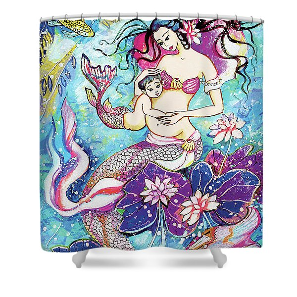 Touching Of Life Shower Curtain
