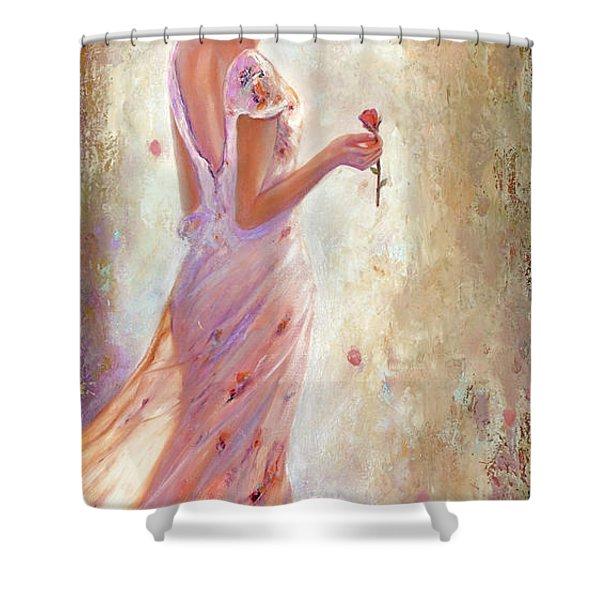 Toujours De Fleurs Shower Curtain