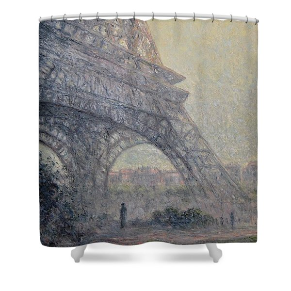 Paris , Tour De Eiffel  Shower Curtain