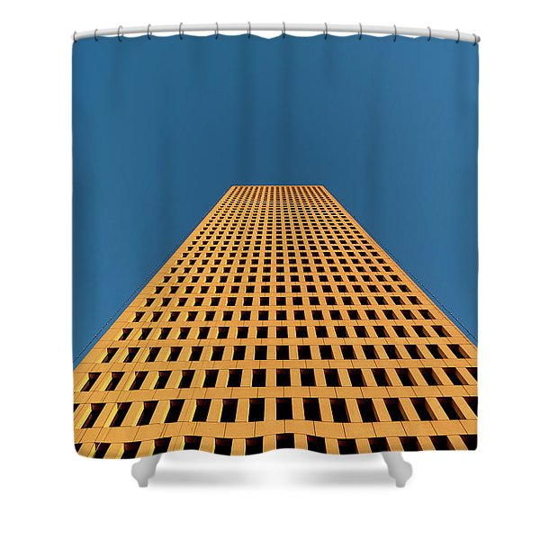 Tower At Sunset Shower Curtain