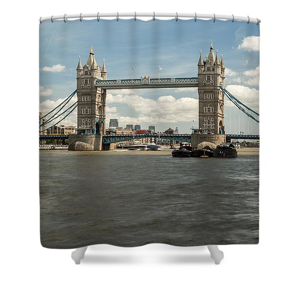 Tower Bridge A Shower Curtain