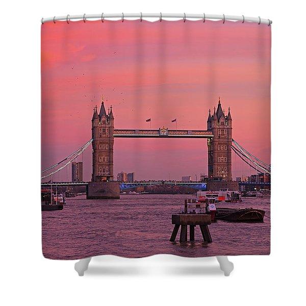 Tower Bridge London Shower Curtain