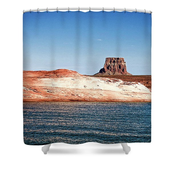 Tower Butte Shower Curtain