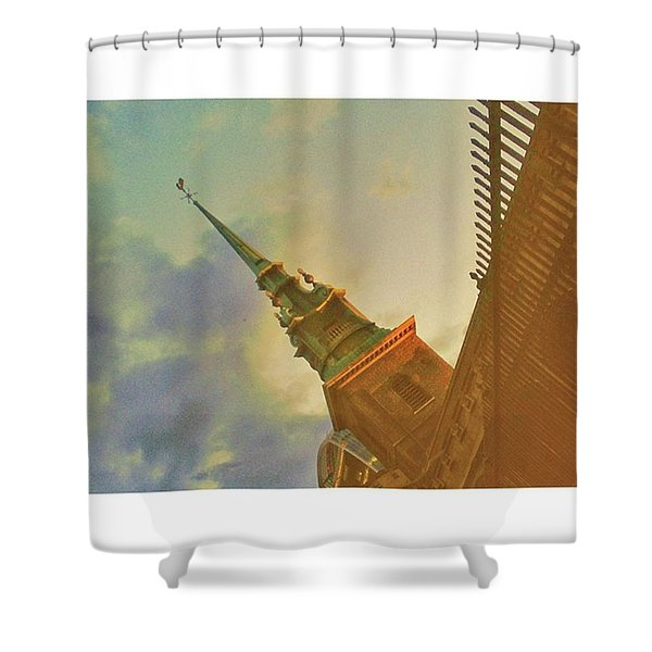 •tower Hill Shower Curtain