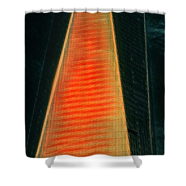 Tower Of Power? Shower Curtain