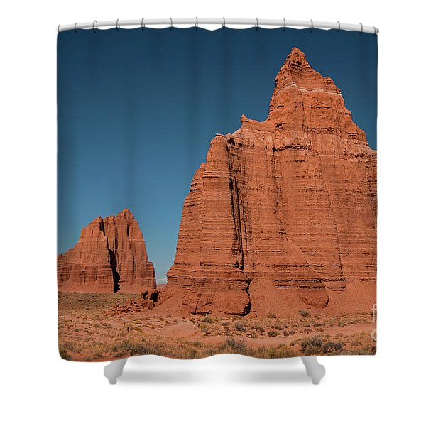Tower Of The Sun And Moon Shower Curtain