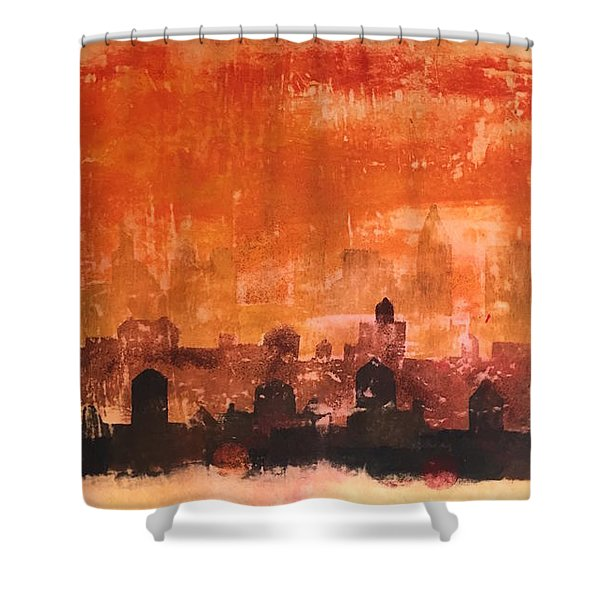 Towers And Tanks Shower Curtain