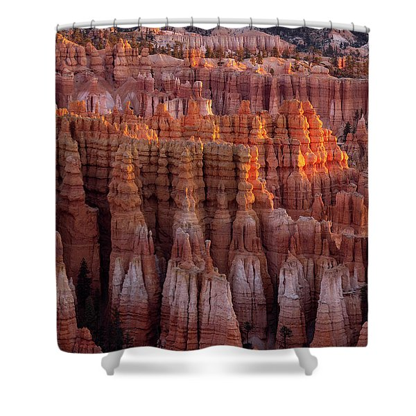 Towers Of Bryce Shower Curtain