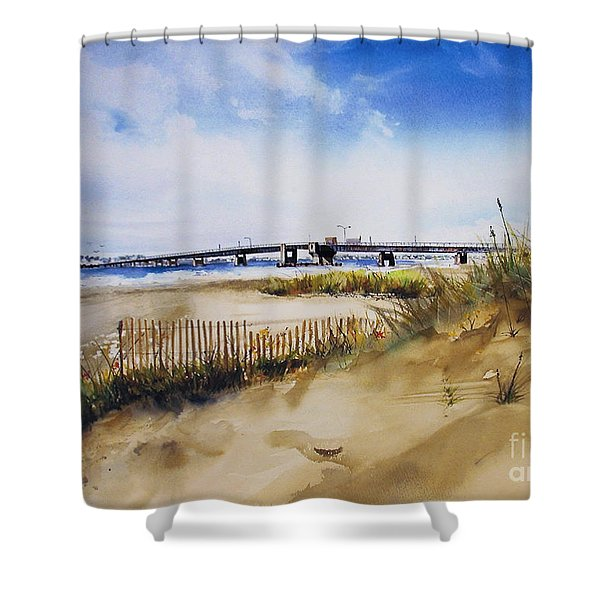 Townsends Inlet Shower Curtain