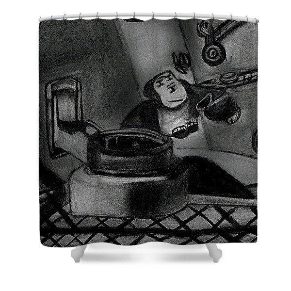 Toy Zoo Shower Curtain