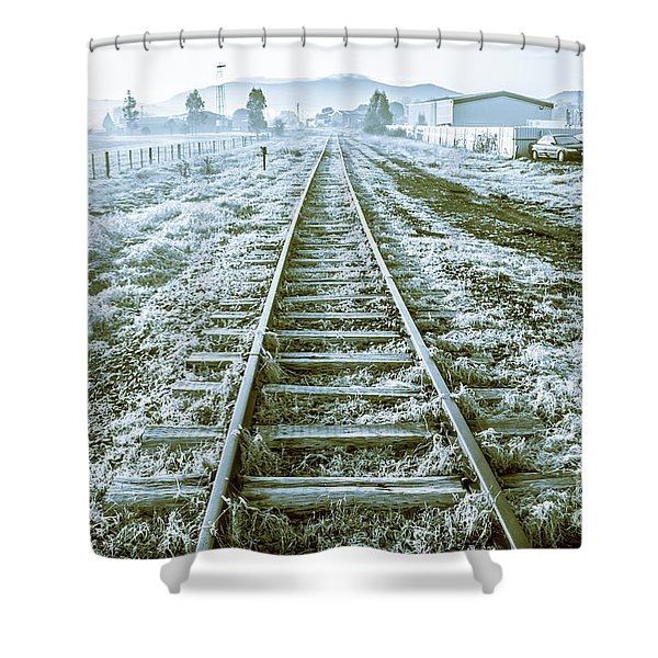 Tracks To Travel Tasmania Shower Curtain