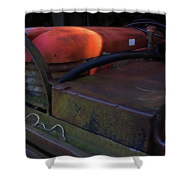 Tractor Shower Curtain