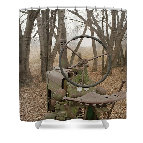 Tractor Morning Shower Curtain