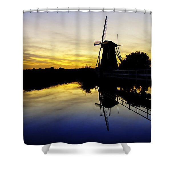 Traditional Dutch Shower Curtain
