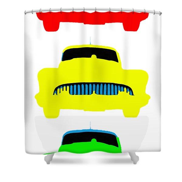 Traffic Light Cars Phone Case Shower Curtain