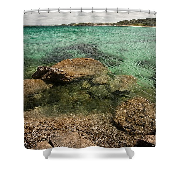 Traigh Na Berie IIi Shower Curtain