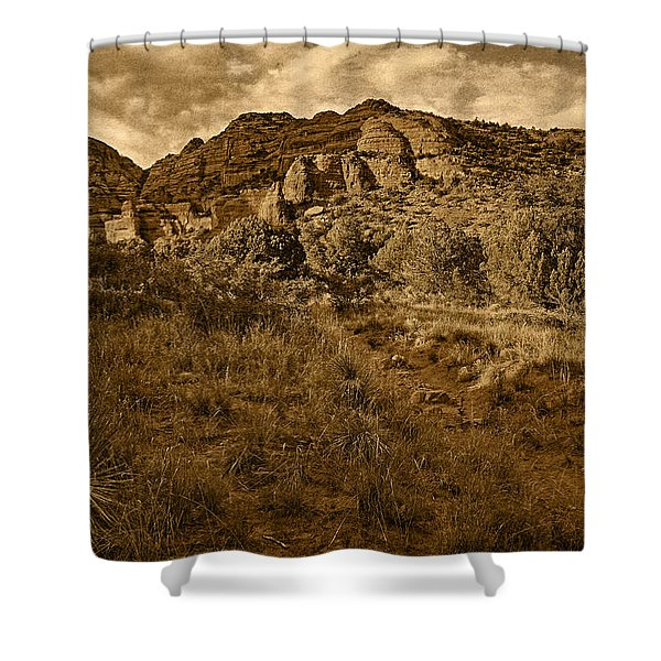 Trailing Along Tnt Shower Curtain