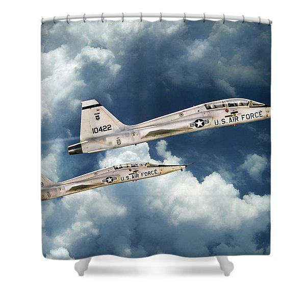 Training Days Shower Curtain