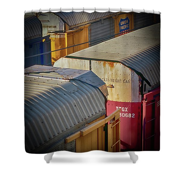 Trains - Nashville Shower Curtain