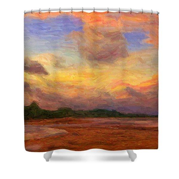 Trancoso 1 Shower Curtain