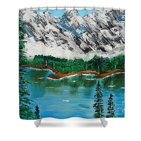 Tranquil Countryside  Shower Curtain