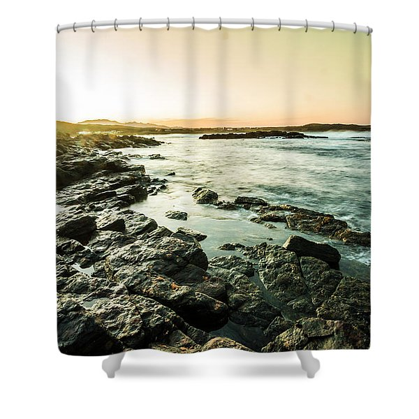 Tranquil Cove Shower Curtain