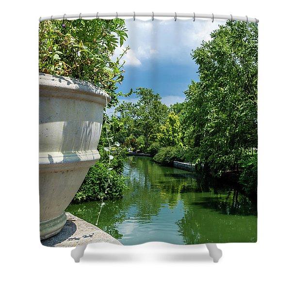 Tranquil Garden Shower Curtain