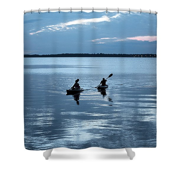 Tranquil Journey Shower Curtain