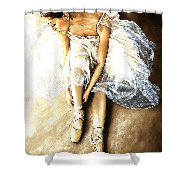 Tranquil Preparation Shower Curtain