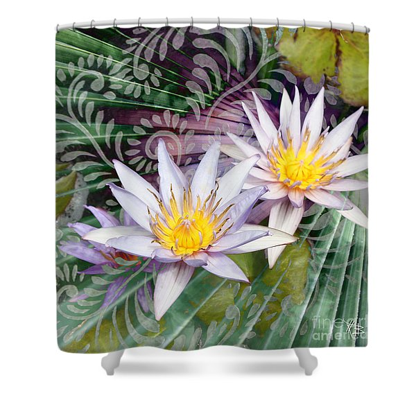 Shower Curtain featuring the photograph Tranquilessence by Christopher Beikmann