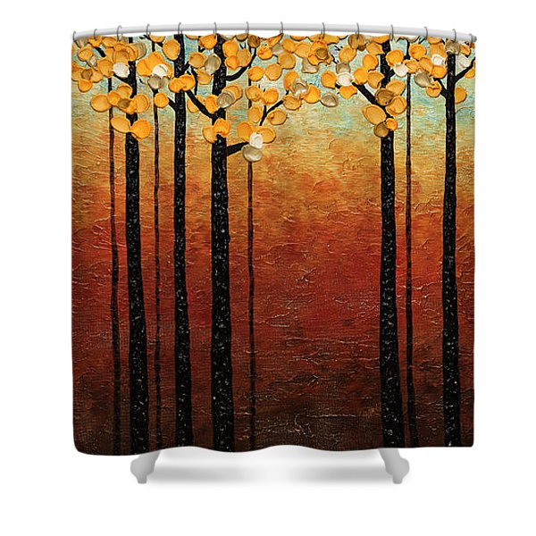 Tranquilidad Shower Curtain
