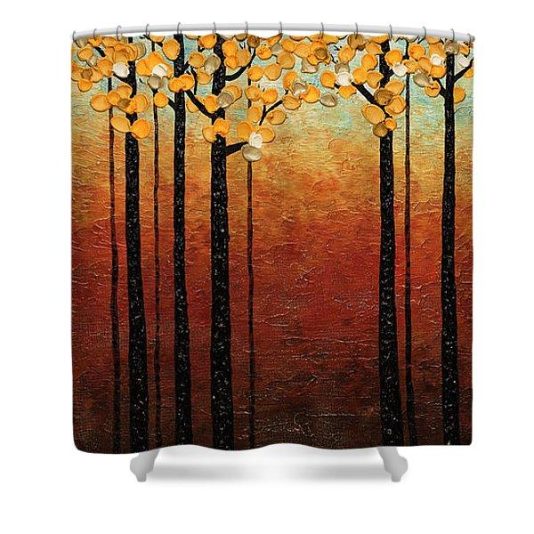 Tranquilidad Shower Curtain