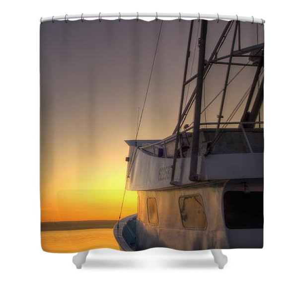Tranquility On The Bay Shower Curtain