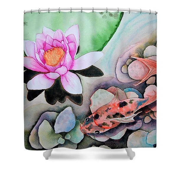 Stone's Throw Shower Curtain